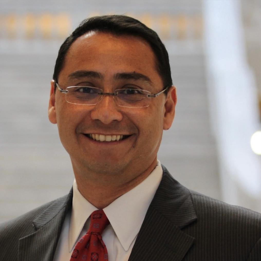 An image of Utah Democratic Party Executive Committee Member Ross Romero