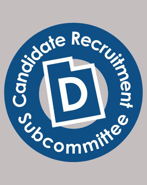 Candidate Recruitment Utah Democrats logo