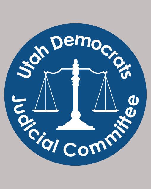 Utah Democrats Judicial Committee logo