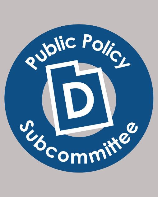Utah Democrats Public Policy logo