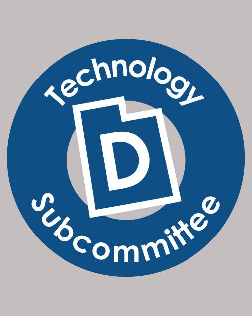 Utah Democrats Technology Committee logo